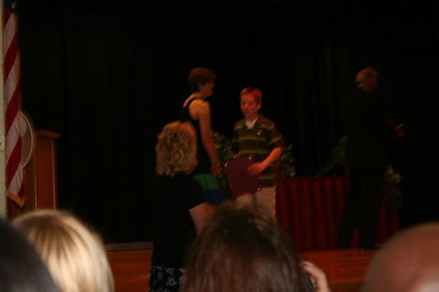 My fourth grade graduation