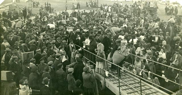 Emigrants cap a l'Amèrica del Sud