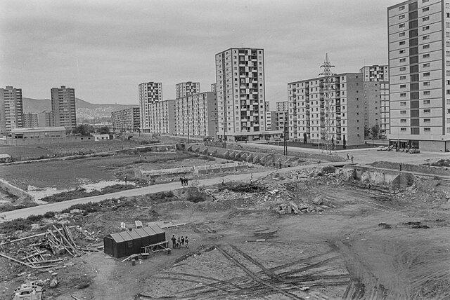 La construcció del barri del Besòs