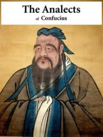 Confucius' The Analects, 475 BC