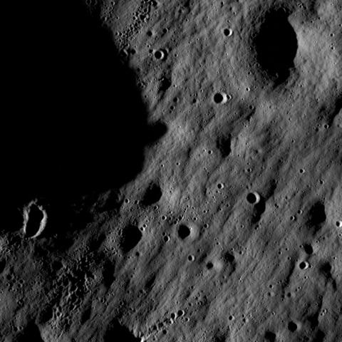Lunar Reconnaissance Orbiter and Lunar Crater Observation Sensing Satellite