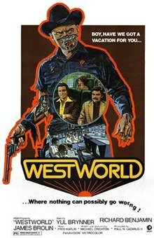 first movie to use CGI graphics  West World