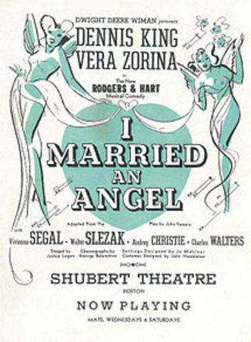 """Rodgers-Opening of """"I Married An Angel"""""""