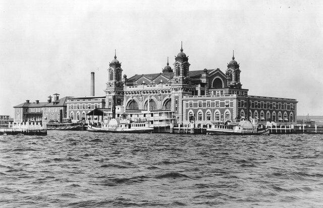 Ellis Island Opens to Process Immigrants