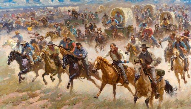 The Great Oklahoma Land Race