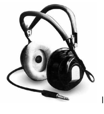 First Headphones Invented