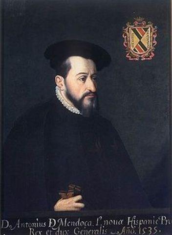Virrey Antonio de Mendoza