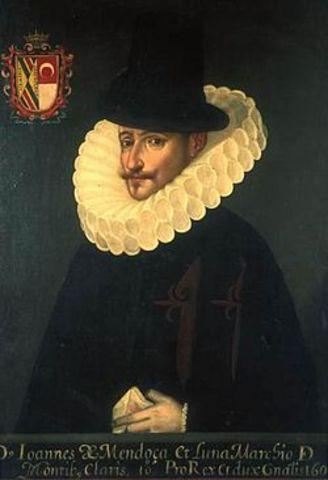 Virrey Juan de Mendoza y Luna
