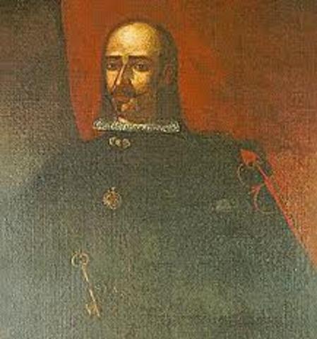 Virrey Baltasar de la Cueva Henríquez y Saavedra