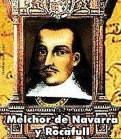 Virrey Melchor de Navarra y Rocafull