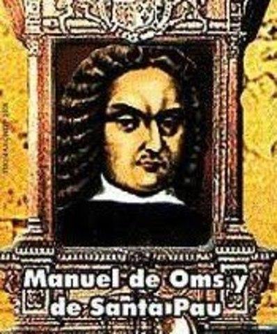 Virrey Manuel de Oms y de Santa Pau