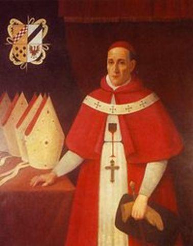 Virrey Diego Morcillo Rubio de Auñón