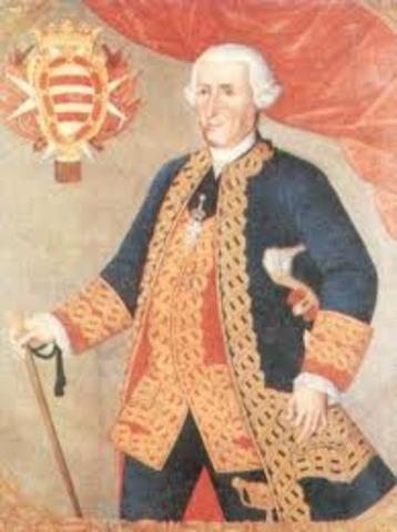 Virrey Manuel de Guirior