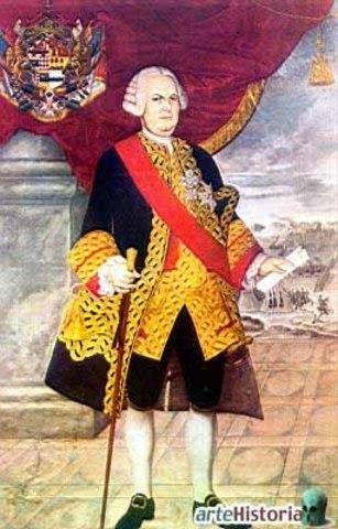Virrey Manuel de Amat y Juniet