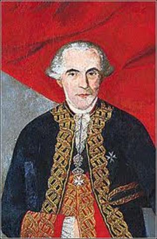 Virrey Francisco Gil de Taboada y Lemos