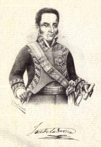 Virrey José de la Serna e Hinojosa