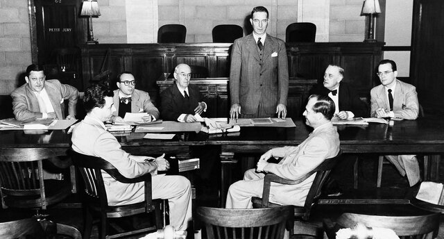 Lansky Appears before the Kefauver Committee