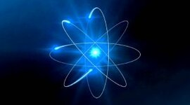 Historia del átomo timeline