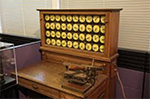 Herman Hollerith Designed Punch Card Calculator