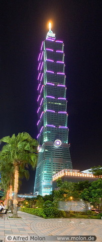 Taipei 101 officially opens