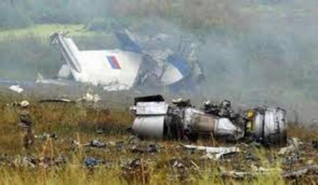 Pulkovo Airlines Flight 612 Crashes