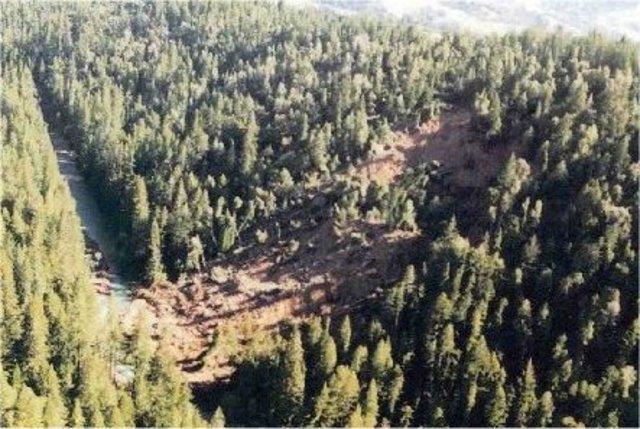 Landlide Occurs