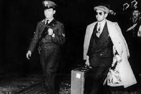 Lansky Sends a Wires Luciano About the Havana Conference