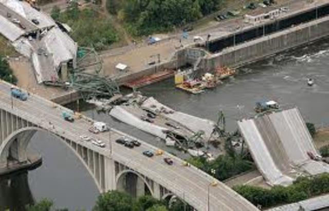 Mississippi Bridge Collapsed