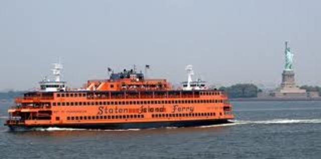 Staten Island Ferry Crashes