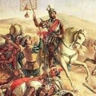 Conquista de Cortés y Nuño Beltrán timeline