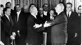 Deutsch-französische Beziehungen timeline