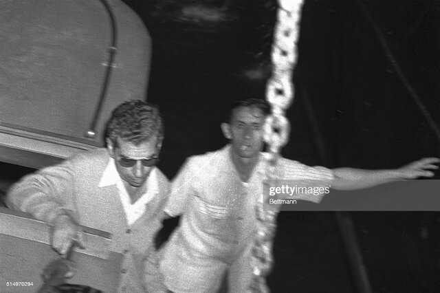 Meyer Aids in Lucky Luciano Arrest (2/23/1947); Deported from Cuba on 3/29/1947