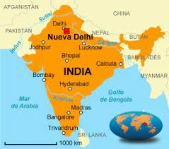 India: Ubicación temporal y territorial