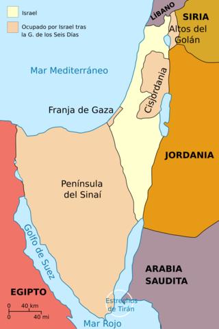 Israel: Ubicación temporal y territorial