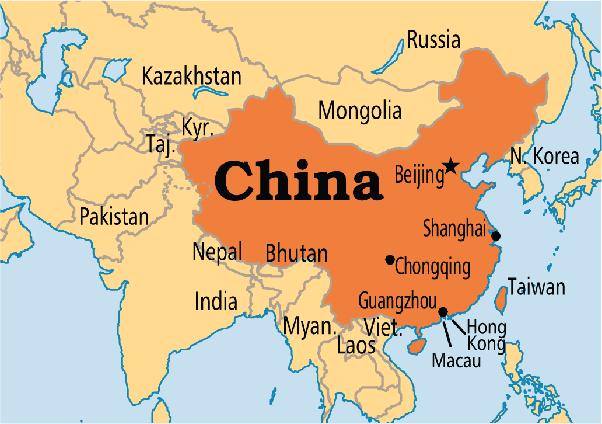 China: Ubicación temporal y territorial
