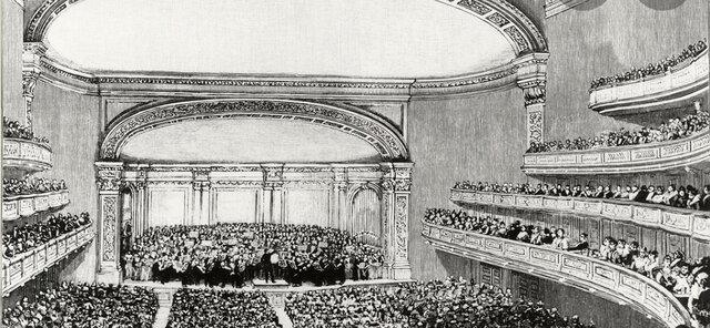 Carnegie Hall Opens