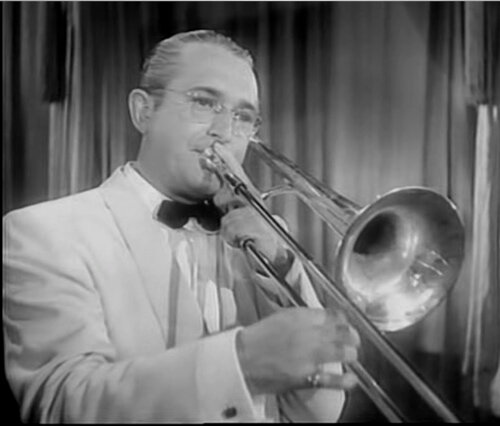 Tommy Dorsey. (1905-1956). Orquesta colaboro con Sinatra.