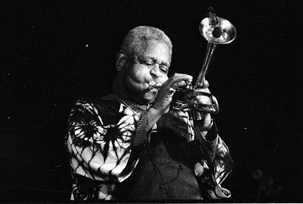 Dizzy Gillespie. (1917-1993).