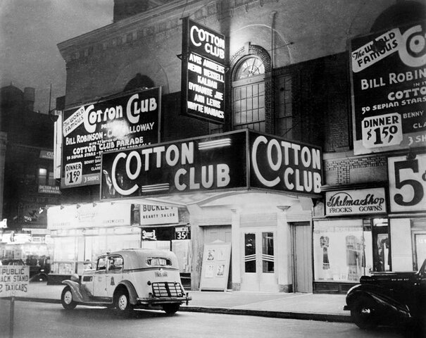 Cotton Club. (Harlem, New York).