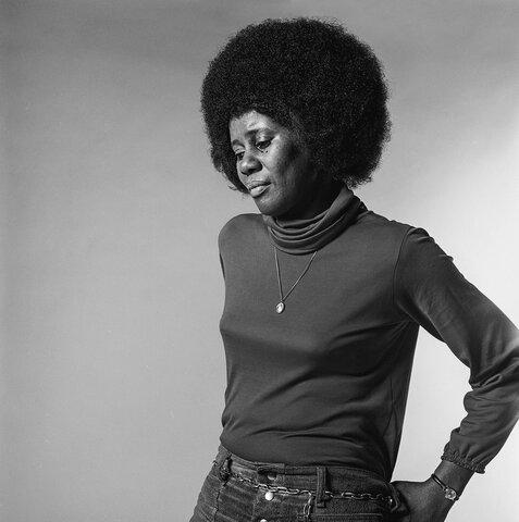 Alice Coltrane. (1937-2007). Esposa de John Coltrane.