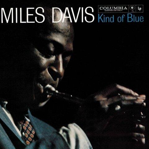 """Kind of Blue"" por Miles Davis. (Columbia Records)."