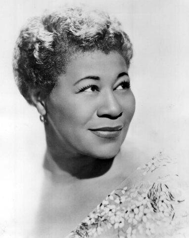 "Ella Fitzgerald. (1917-1996). ""Reina del Jazz""."