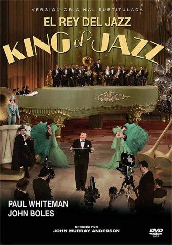 El rey del jazz. - Película. - 1ª Aparición en el cine de Bing Crosby.
