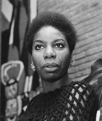 """Nina Simone. (1933-2003). """"Alta Sacerdotisa del Soul""""."""