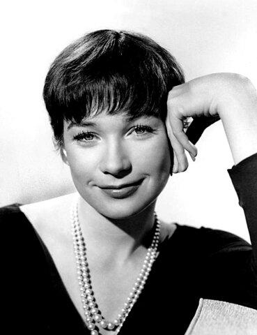 Shirley MacLaine. (1934-Actualidad).