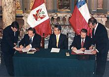 Tratado Chile - Perú