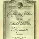 Portada interior original de la constitucion de 1917