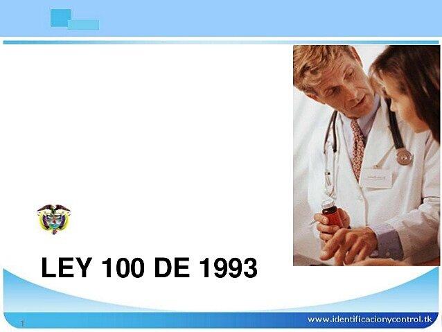 Articulo,165 de la ley 100 de 1993