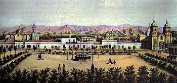 Fundación de la Ciudad de Mendoza