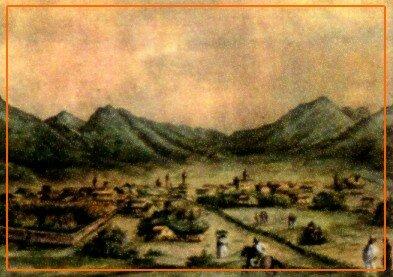 En el valle de Salta. Fundación de la ciudad de San Felipe de Lema